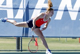 Doubleheader Victory for Women's Tennis