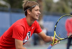 Men's Tennis Finishes Second Day of Blue/Gray