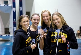 USC 800 Free, 200 Medley Relays Post NCAA A Times In Pac-12 Third-Place Swims