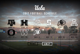 2017 UCLA Football Schedule Announced