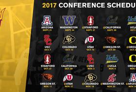 @SunDevilVB Announces 2017 Pac-12 Slate