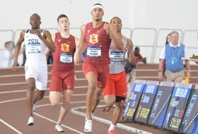 Five Trojans Advance To Event Finals During First Day Of NCAA Indoor Championships