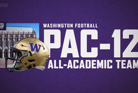 Twenty-Four Huskies Earn Pac-12 All-Academic Recognition