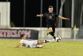 Men's Soccer Falls To Oregon State 1-0 In Overtime