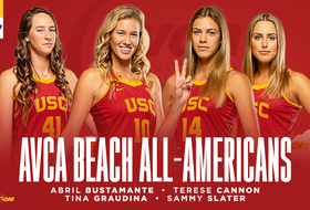 Bustamante, Cannon, Graudina, and Slater Earn AVCA All-America Notice