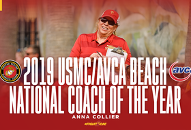 Anna Collier Named USMC/AVCA National Coach of the Year