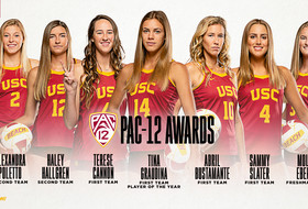 Trojans Rack Up Pac-12 Beach Volleyball Honors