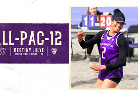 Julye Named All-Pac-12 For Third Time