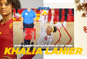 Khalia Lanier Named Sports Imports/AVCA Player of the Week