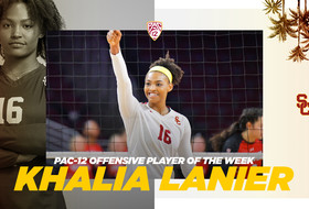 Khalia Lanier Tabbed for Back-to-Back Pac-12 Player of the Week Honors