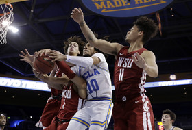 Riley leads UCLA past Washington State in OT, 86-83