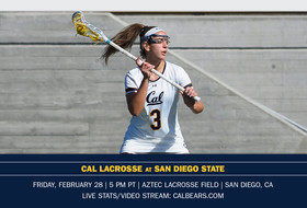 Cal Visits San Diego State Friday