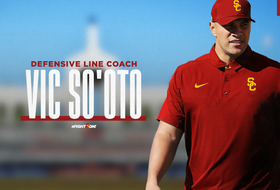 Vic So'oto Named USC Football Defensive Line Coach