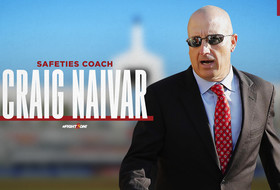 Craig Naivar Named Safeties Coach, John David Baker Named Tight Ends Coach