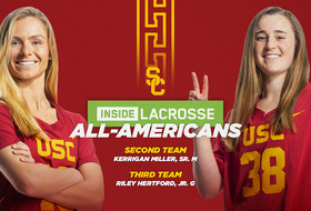 Miller and Hertford Receive Inside Lacrosse All-America Honors