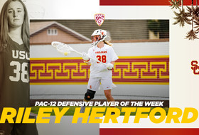 Riley Hertford Named Pac-12 Defensive Player of the Week