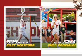 Concialdi and Hertford Sweep Pac-12 Lacrosse Weekly Awards