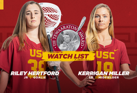 Miller and Hertford Named to Tewaaraton Award Watch List