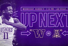 UW Opens Pac-12 Tournament Against Arizona, Wednesday at 2:30 p.m.