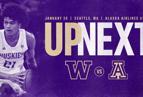 Huskies Return Home to Face Arizona on Thursday