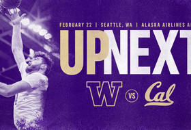 Huskies Host California Saturday at 3 p.m.