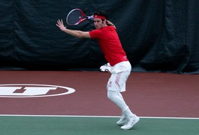 Utah Men's Tennis Remains Undefeated At Home, Downs Utah State and Idaho State on Friday