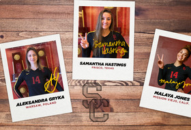Gryka, Hastings, and Jones Join 2020 USC Women's Volleyball Roster