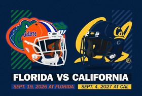 Cal, Florida Schedule Home-And-Home Series In 2026 And 2027
