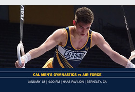 Cal Continues Early Home Stretch, Hosts Air Force On Saturday