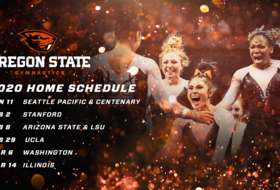 Gymnastics Schedule Announced