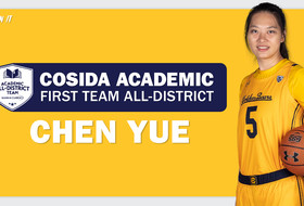 Yue Named Academic All-District