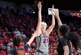 No. 16 Arizona Wins Fifth-Straight, Downs USC 73-57