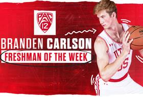 Solid Weekend Earns Carlson Freshman of the Week