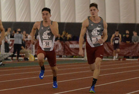 T&F Hosts Cougar Indoor/Multis Meet Feb. 3 & 4