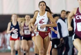 Liz Harper Wins Pentathlon at Cougar Indoor Meet