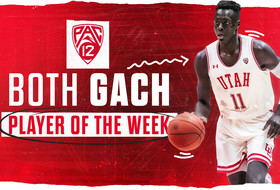 Gach Collects Player of the Week Honors After Career-High Weekend