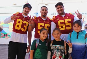 Trojans Host Super Bowl Spirit Day