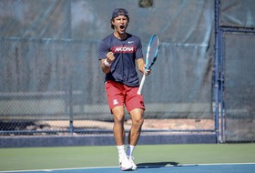 Men's Tennis Wins Seventh-Straight Home Match Over Liberty