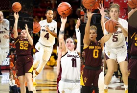 Seven @SunDevilWBB Players Named to Pac-12 Winter Academic Honor Roll