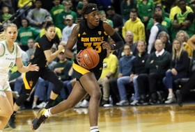 No. 19 @SunDevilWBB Unable to Keep Pace with No. 3 Oregon