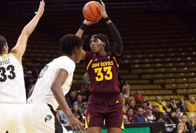 Seniors lead the way in No. 21 @SunDevilWBB's 65-59 win at Colorado