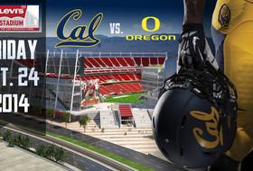 Levi's Stadium to Host Cal-Oregon Friday Game