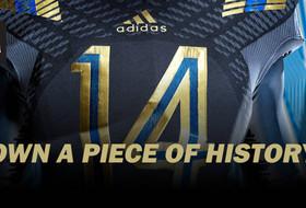 Bid on Game-Worn LA Steel adidas Alternate Jerseys