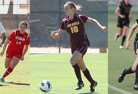 Three Sun Devil Soccer Players Earn Capital One Academic All-District Recognition