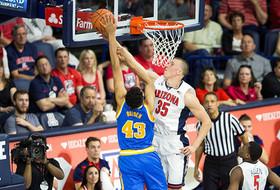 No. 17 Arizona Holds Off UCLA 81-75