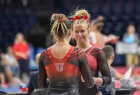 Follow Utah Gymnastics at Cal TODAY