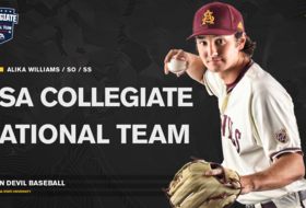 Sun Devil Baseball's Williams Invited To USA Collegiate National Team Training Camp