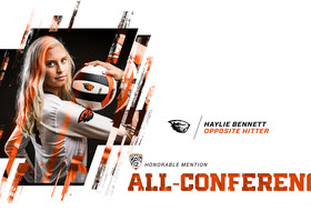 Haylie Bennett Picks Up Pac-12 Honors