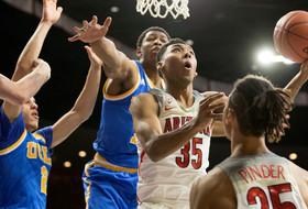 No. 5 UCLA Edges No. 4 Arizona 77-72