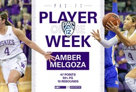 Amber Melgoza Named Pac-12 Player of the Week